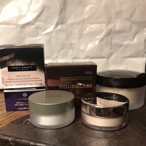Loose face powder - deluxe & sample sizes